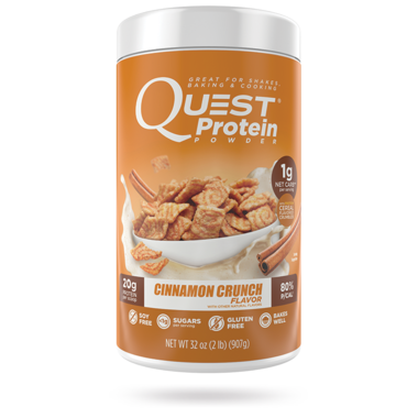 Quest Nutrition Cinnamon Crunch Protein Powder