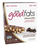 Love Good Fats Chocolatey Almond Chewy Nutty Bar