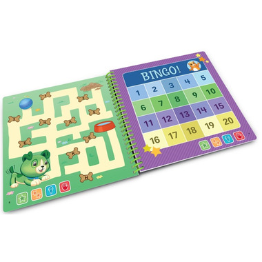 LeapFrog LeapStart Preschool Math Activity Book: Scout & Friends Math