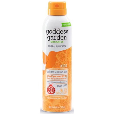Goddess Garden Kids Continuous Spray Sunscreen