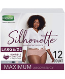 Depend Silhouette Incontinence Underwear for Women Maximum Absorbency L/XL
