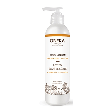 Oneka Goldenseal Citrus Body Lotion