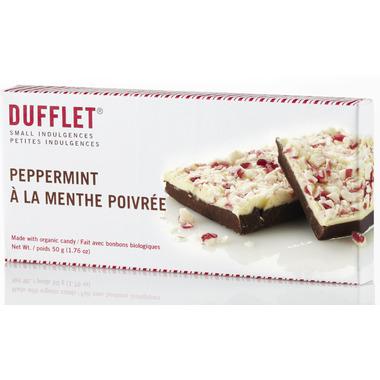 Dufflet Small Indulgences Organic Peppermint Candy Bark