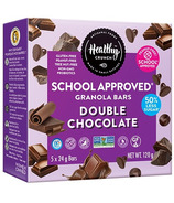 Healthy Crunch School Approved Granola Bars Double Chocolate