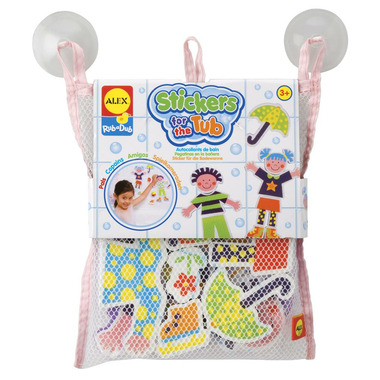 Alex Mix and Match Playtime Pals Stickers for the Tub