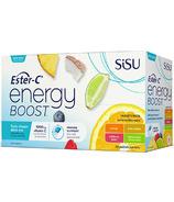 SISU Ester-C Energy Boost Variety Pack