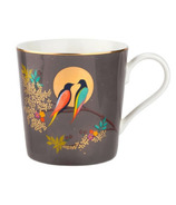 Sara Miller London Portmeirion Coffee Mug Dark Grey