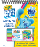 Crayola Blue's Clues and You Color Wonder Travel & Activity Pad