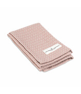 The Organic Company Kitchen and Wash Cloth Stone Rose Pique