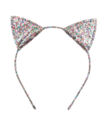 Hatley Glitter Kitty Ears Headband