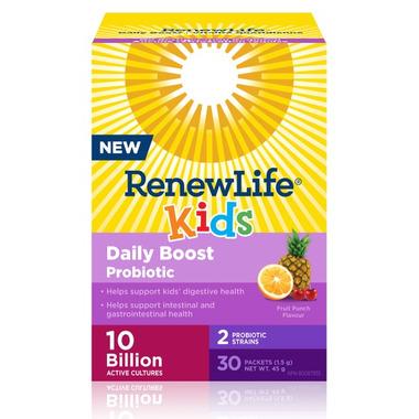 Renew Life Kids Daily Boost Probiotic 10B