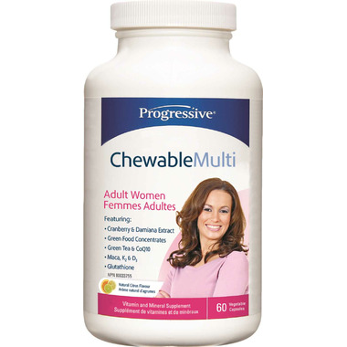 Progressive Chewable Multi for Adult Women