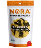 Nora Seaweed Snacks Tempura Original Flavour