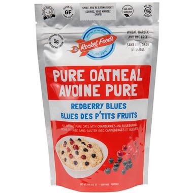Rocket Foods Redberry Blues Oatmeal