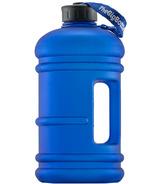 The Big Bottle Co Matte Blue 2.2L Water Bottle
