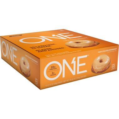 ONE Bars Maple Glazed Doughnut