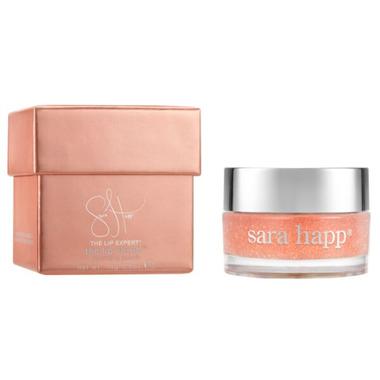 Sara Happ Peach Lip Scrub
