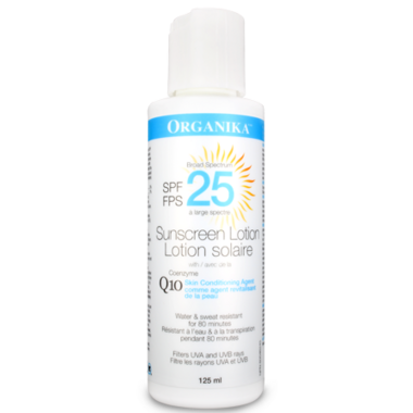 Organika Coenzyme Q10 Sunscreen Lotion