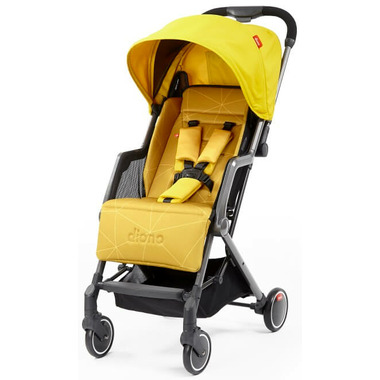 Diono Traverze Travel Stroller Yellow Sulphur Linear
