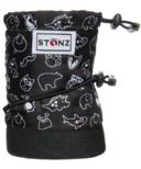 Stonz Baby Booties Stonz Print Black