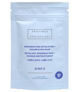 Province Apothecary Regenerating Exfoliator + Resurfacing Mask