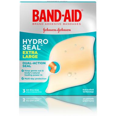 Band-Aid Hydro Seal Advanced Healing XL Bandages