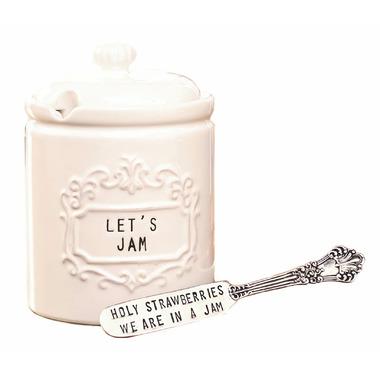 Mud Pie Circa Jam Jar Set