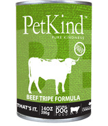 PetKind Beef Tripe Formula Natural Dog Food