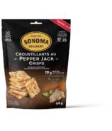 Sonoma Creamery Pepper Jack Crisps Cheese Snacks