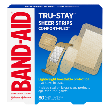 Band-Aid Comfort-Flex Plastic