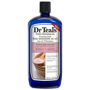 Dr Teal\'s Pink Himalayan Foaming Bath
