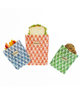 BeeBAGZ Beeswax Bags Lunch Pack Multi