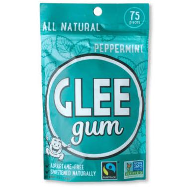 Glee Gum All Natural Peppermint Gum Bag