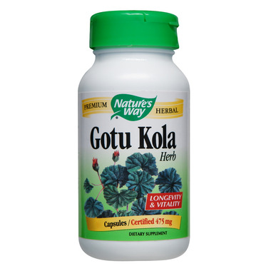 Nature\'s Way Gotu Kola Value Size