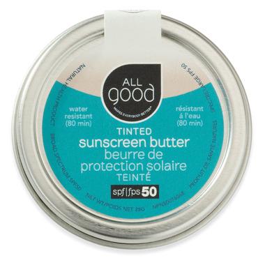 All Good SPF 50 Tinted Suncreen Butter 28g