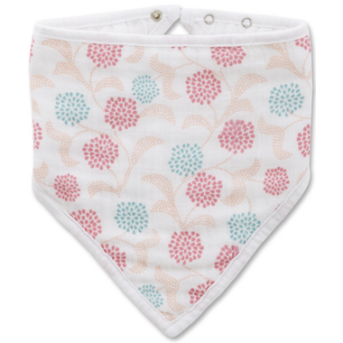 aden + anais x tea Bandana Bib Global Garden