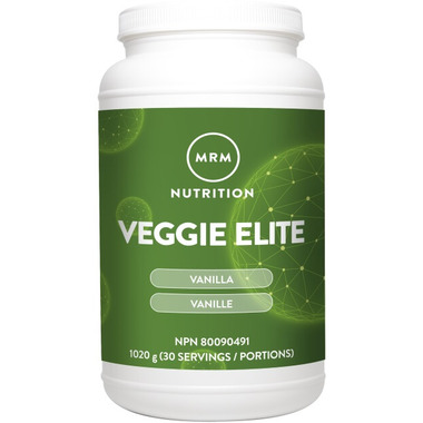 MRM Veggie Elite Vanilla Bean