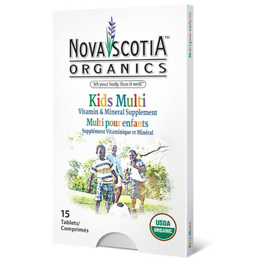 Nova Scotia Organics Kid\'s Multivitamins and Minerals