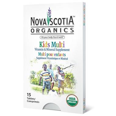 Nova Scotia Organics Kid\'s Multivitamins and Minerals