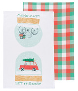 Now Designs Tea Towel Set Let it Snow
