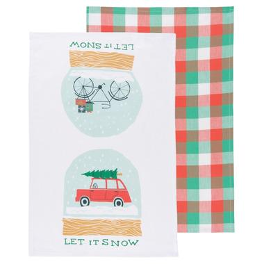 Now Designs Let it Snow Dishtowel Set