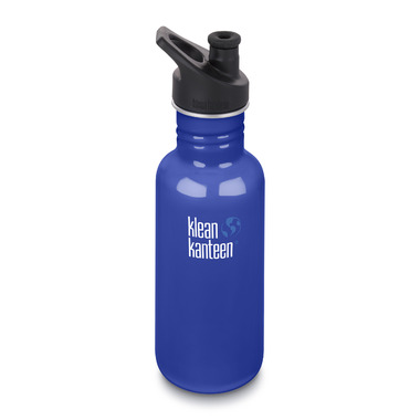 Klean Kanteen Classic Bottle with Sport Cap 3.0 Coastal Waters