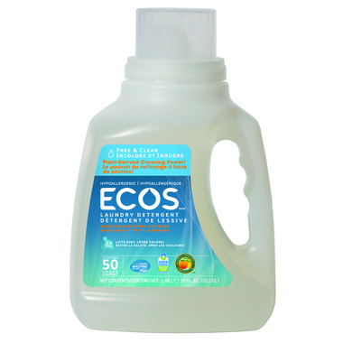 ECOS Laundry Detergent Free & Clear