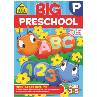 School Zone Big Preschool Book