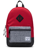 Herschel Supply Heritage Kids Red, Raven Crosshatch & Black Crosshatch