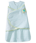 Halo 100% Cotton SleepSack Swaddle Blue Diamond & Elephant