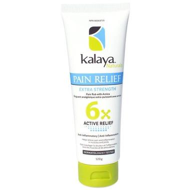 Kalaya Naturals 6X Extra Strength Pain Relief