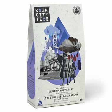 Rain City Tea Co. Capt. George\'s English Breakfast Tea Bags