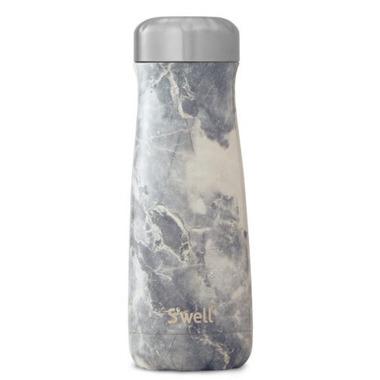 S\'well Traveler Stainless Steel Wide Mouth Bottle Blue Granite