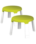 Oribel PortaPlay Child Stools Green